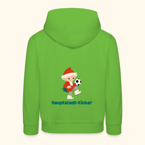 Kinder Premium Hoodie Sandmännchen Hauptstadt-Kicker  - Kinder Premium Hoodie