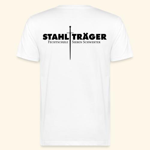 Stahlträger Shirt Baumwolle - Männer Bio-T-Shirt