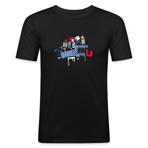Fonfon / Homme - Tee shirt près du corps Homme