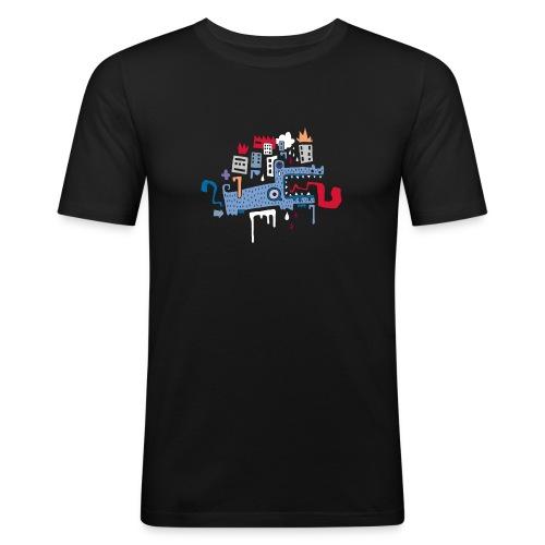Fonfon / Homme - T-shirt près du corps Homme