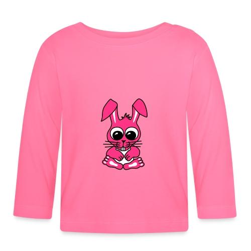 Süßer Hase - Baby Langarmshirt - Baby Langarmshirt