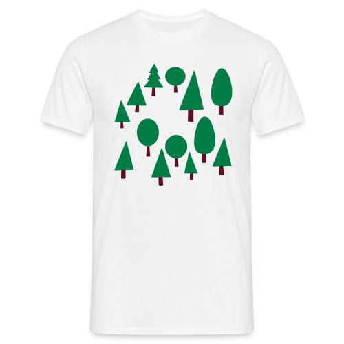 Forest - Mannen T-shirt