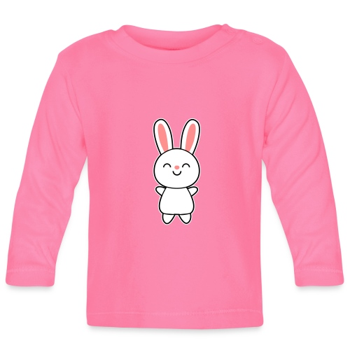 Cute Rabbit / Bunny Lapset & vauvat - Baby Langarmshirt