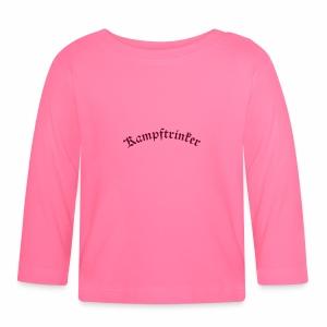 Kampftrinker - Baby Langarmshirt
