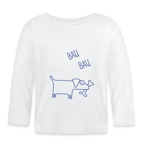 cane baby2 - Maglietta a manica lunga per bambini