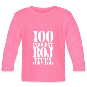 100% RoJ-jävel - Långärmad T-shirt baby