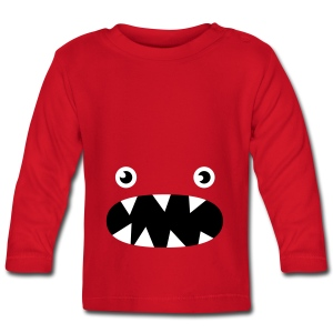 Phillip the little monster - Baby Long Sleeve T-Shirt