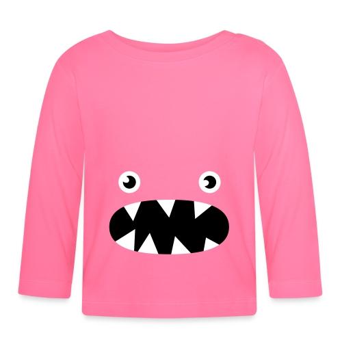 Phillip the little monster - Baby Long Sleeve T-Shirt