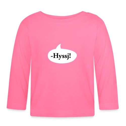 -HYSSJ! - Långärmad T-shirt baby