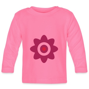 Une Petit Fleur or eine kleine Blume! - Baby Long Sleeve T-Shirt