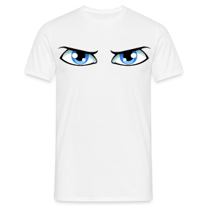 T-SHIRT BLUE EYES by Florian VIRIOT - T-shirt Homme