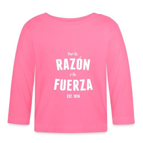 Por la Razón o la Fuerza - Långärmad T-shirt baby