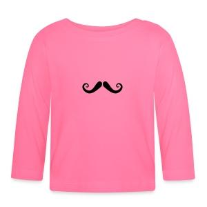 Französischer Schnurrbart Baby T-Shirt - Baby Langarmshirt