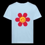 T-Shirts ~ Kinder Bio-T-Shirt ~ Happy Flower - Kinder Bio T Shirt