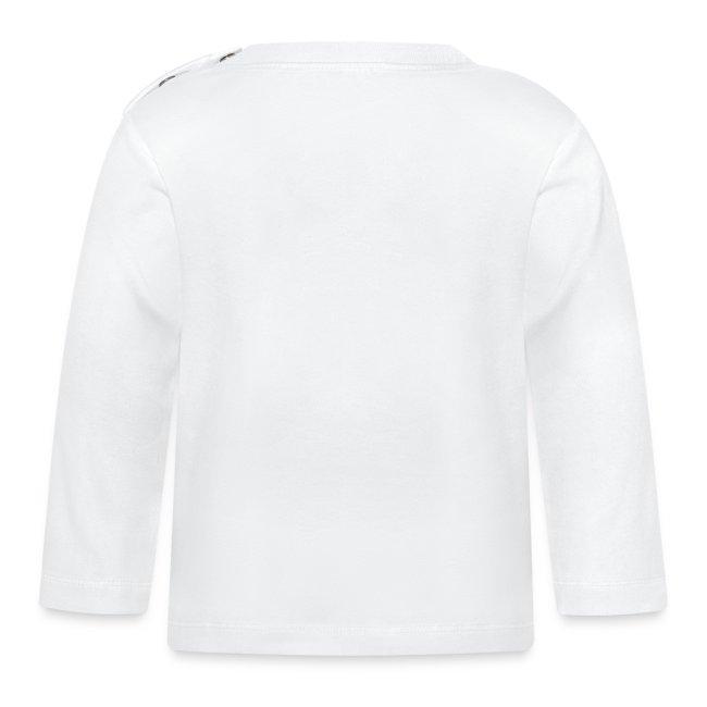 Langermet baby t-skjorte - egen tekst