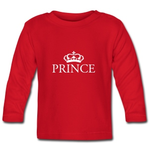 Gin O'Clock Prince Baby LS Top - Baby Long Sleeve T-Shirt