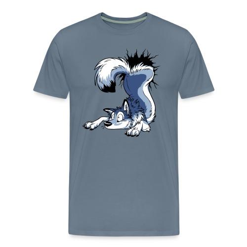 UN-STUCK Husky Blue/Blau - Männer Premium T-Shirt