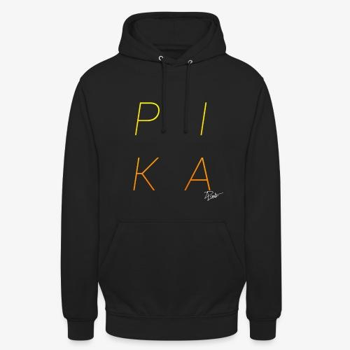 P.I.K.A  - Sweat-shirt à capuche unisexe