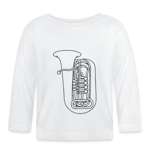 Tuba Blechblasinstrument - Baby Langarmshirt