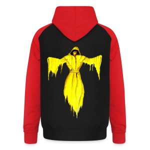 Kontrast-Kapuzenjacke King in yellow - Unisex Baseball Hoodie