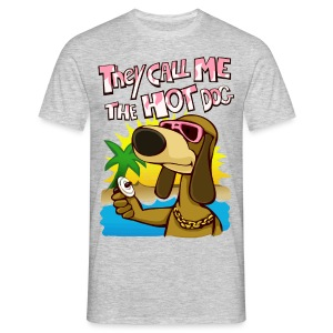 they call me the hot dog! - Men's T-Shirt