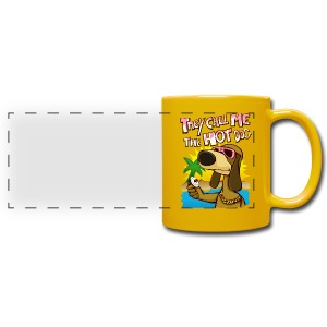 they call me the hot dog! - Full Color Panoramic Mug