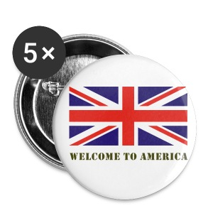 Welcome to America - Buttons small 25 mm
