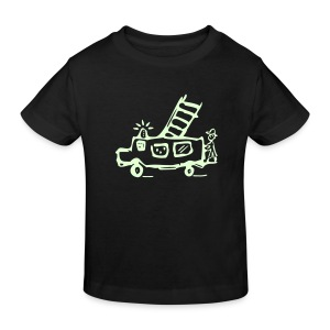 Feuerwehr (glow in the dark) - Kinder Bio T Shirt - Kinder Bio-T-Shirt