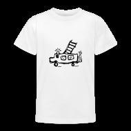 T-Shirts ~ Teenager T-Shirt ~ Feuerwehr - Kinder T Shirt klassisch