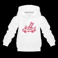 Pullover & Hoodies ~ Kinder Premium Kapuzenpullover ~ Feuerwehr - Kinder Kapuzenpullover