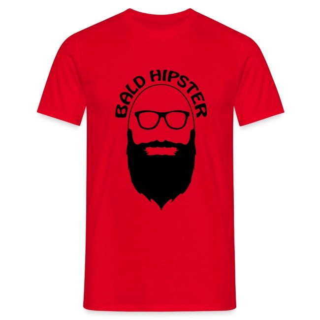 Bald Hipster