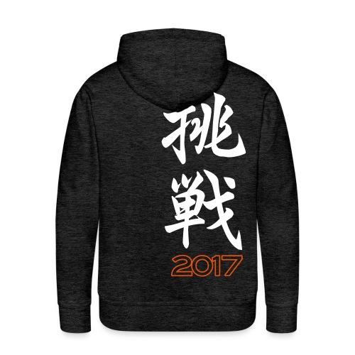 2017 Mens Hoodie CHO-SEN/CHALLENGE - Men's Premium Hoodie