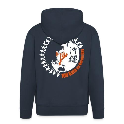 2017 Mens Hoodie Karate Origin - Men's Premium Hooded Jacket