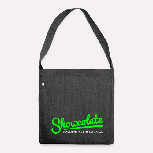Showcolate Schultertasche aus Recycling-Material - Schultertasche aus Recycling-Material