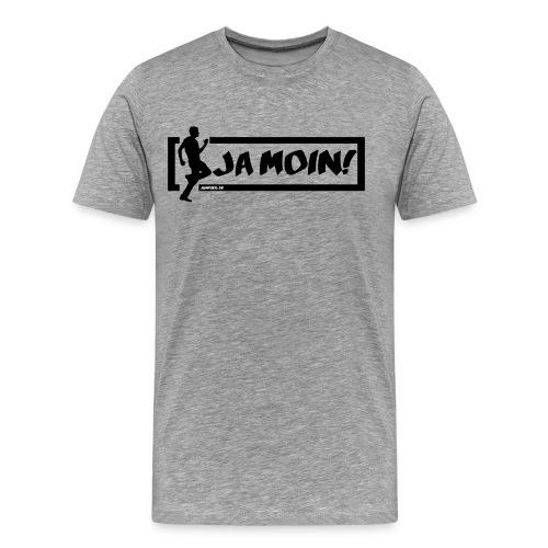 Jumpgeil Shirt Ja Moin - Männer Premium T-Shirt