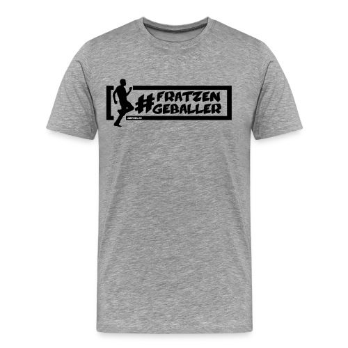 Jumpgeil Shirt #fratzengeballer - Männer Premium T-Shirt