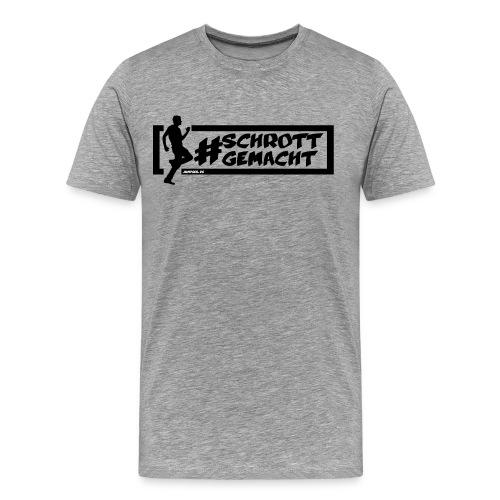 Jumpgeil Shirt #schrottgemacht - Männer Premium T-Shirt
