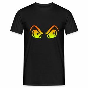 HALLOWEEN AUGEN - Männer T-Shirt
