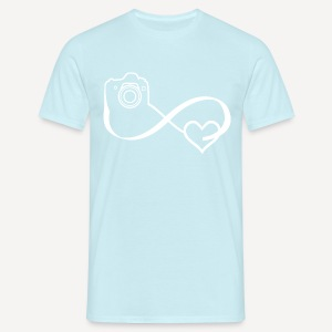 Infinity Heart Photo - T-shirt - Maglietta da uomo