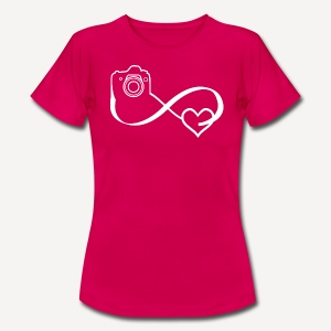 Infinity Heart Photo - Women's T-shirt - Maglietta da donna