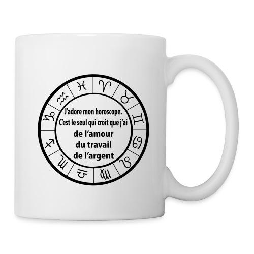 Horoscope amour travail santé - Mug blanc