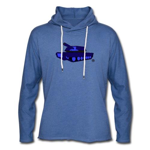 T-BRAND TANK LW HOODY - Light Unisex Sweatshirt Hoodie