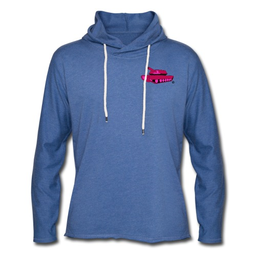 T-BRAND SM TANK LW HOODY - Light Unisex Sweatshirt Hoodie