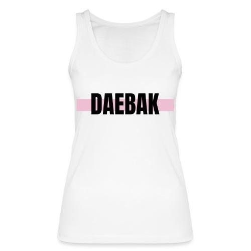 Débardeur - Daebak #pink - Débardeur bio Femme