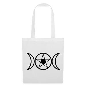 Tasche - Goddess & Pentagramm - Stoffbeutel