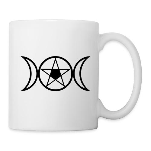 Tasse - Goddess & Pentagramm - Tasse
