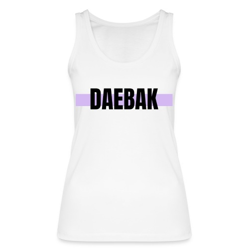 Débardeur - Daebak #violet - Débardeur bio Femme