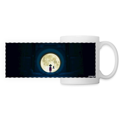 Panoramatasse Mond - Panoramatasse