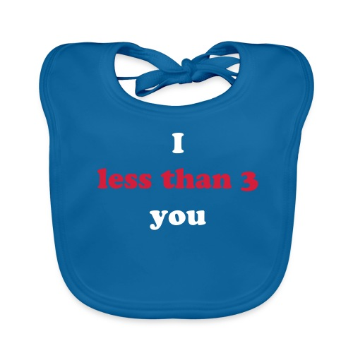 Geek speak bib - Baby Organic Bib