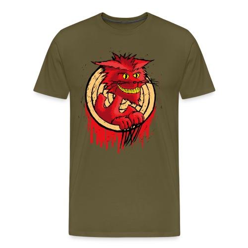 Halloween Bakeneko Cat - Männer Premium T-Shirt